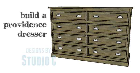 DIY Plans to Build a Providence Dresser