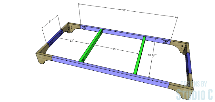 DIY Plans to Build a Greek Key Chest_Base 1