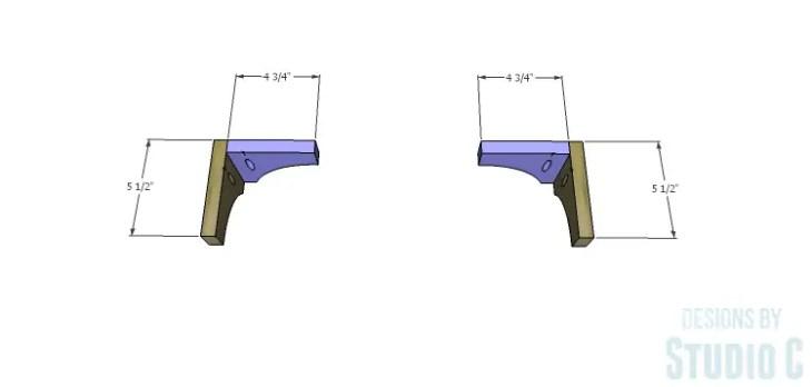 DIY Plans to Build a Greek Key Chest_Feet 2