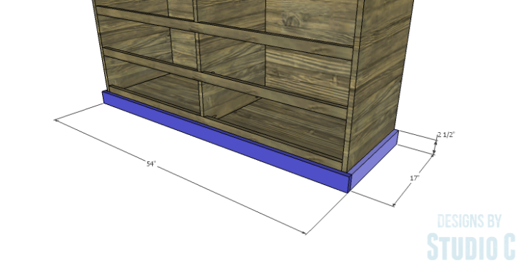 DIY Plans to Build a Providence Dresser_Trim