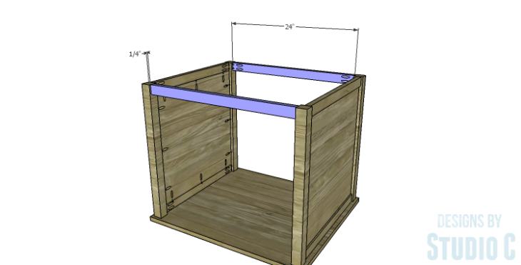 DIY Plans to Build a Lila End Table_Stretchers