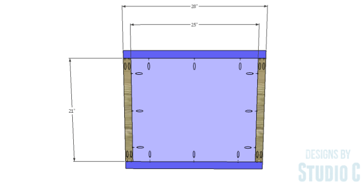 DIY Plans to Build a Lila End Table_Top 1
