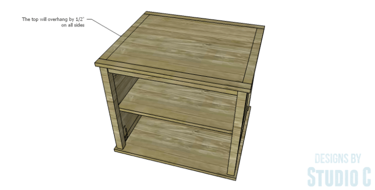 DIY Plans to Build a Lila End Table_Top 2