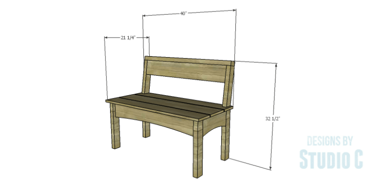 DIY Plans to Build a Taboreh Bench