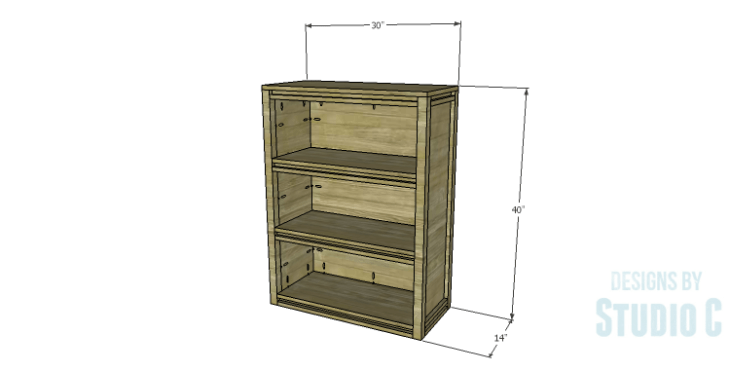 DIY Plans to Build a Holly Bookcase