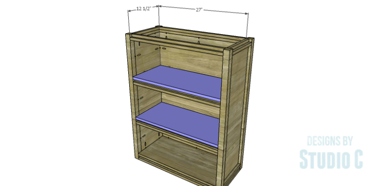 DIY Plans to Build a Holly Bookcase_Shelves