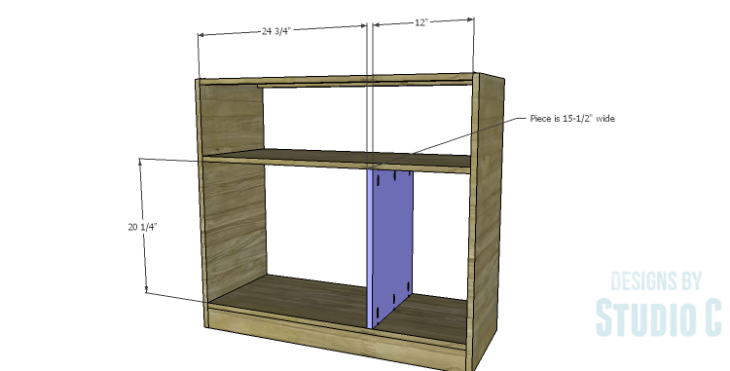 DIY Plans to Build a Savoy Cabinet_Cabinet Divider