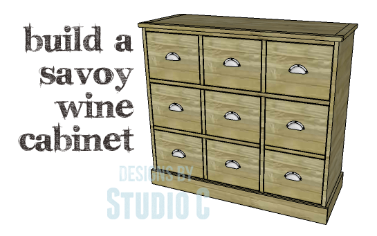 DIY Plans to Build a Savoy Cabinet_Copy  sc 1 st  Designs by Studio C : diy liquor cabinet plans - Cheerinfomania.Com