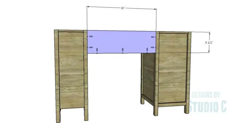 DIY Plans to Build a Jeweler's Desk_Back