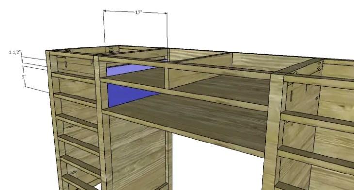 DIY Plans to Build a Jeweler's Desk_Center Drawer Spacers