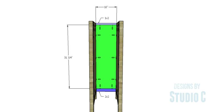 DIY Plans to Build a Jeweler's Desk_Narrow Drawer Back