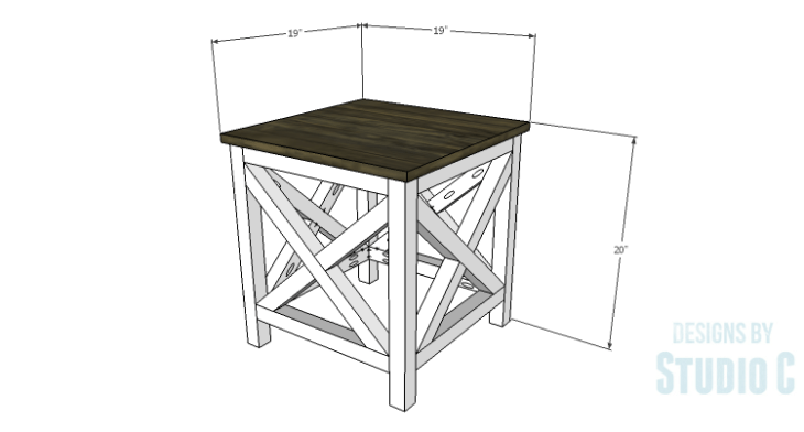 DIY Plans to Build a Riley End Table