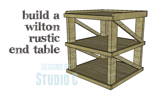 An Easy To Build End Table Using Pallets Or Reclaimed Wood - How to build an end table