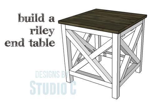 DIY Plans to Build a Riley End Table_Copy
