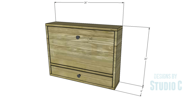 DIY Plans to Build a Laptop Wall Desk
