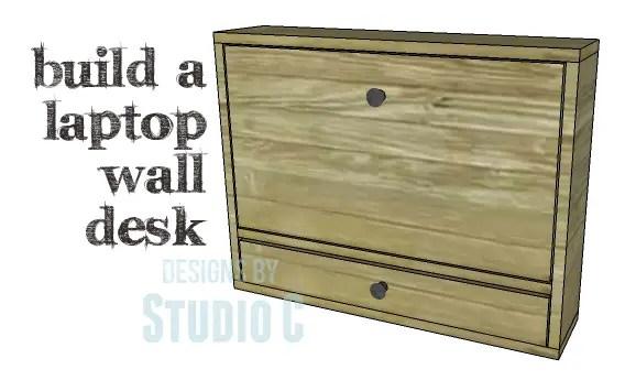 DIY Plans To Build A Laptop Wall Desk_Copy