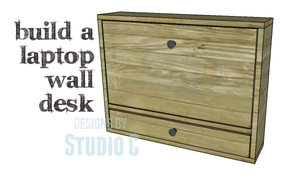 DIY Plans to Build a Laptop Wall Desk_Copy