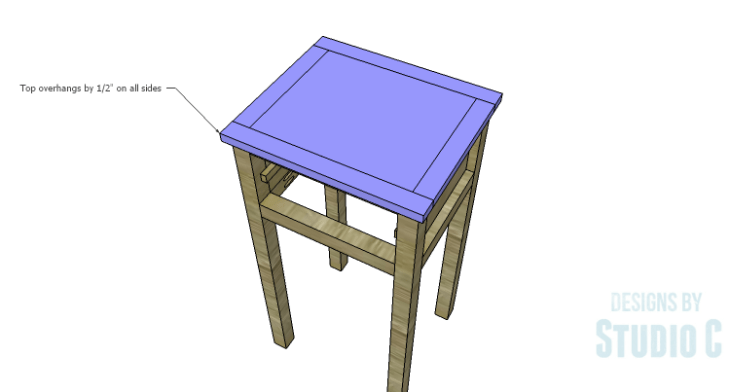 DIY Plans to Build a Nell End Table_Top 2