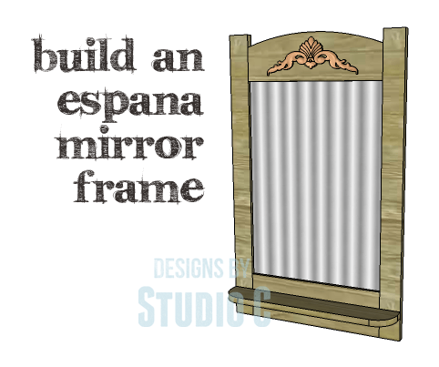 DIY Plans to Build an Espana Mirror Frame_Copy