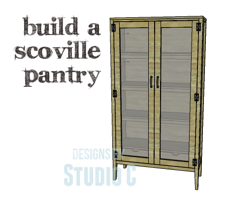 Diy Plans To Build A Scoville Pantry