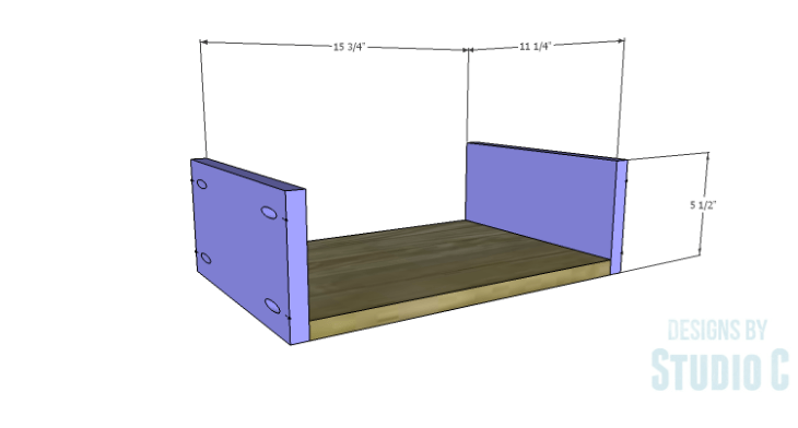 DIY Plans to Build a Scoville Pantry_Drawers 1