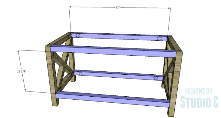 DIY Plans to Build a Riley Coffee Table_Stretchers
