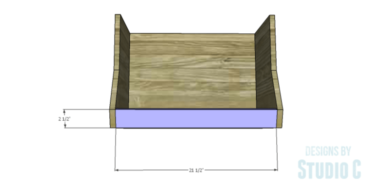 DIY Plans to Build an Atlantic Wall Shelf_Front
