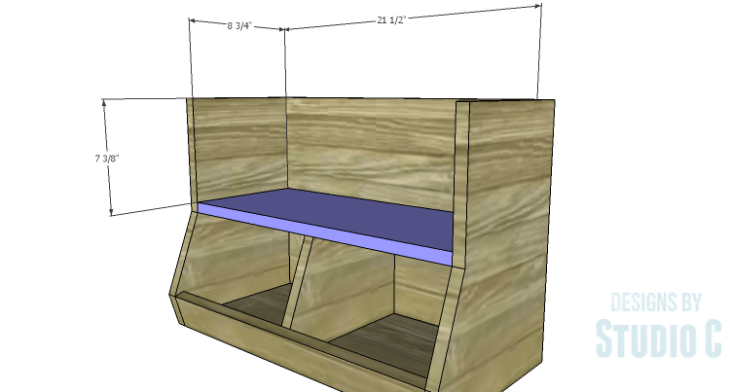 DIY Plans to Build an Atlantic Wall Shelf_Shelf