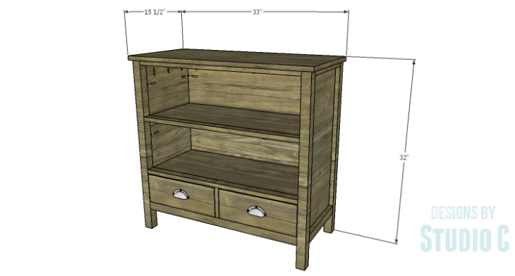 DIY Plans to Build an Atherton Cabinet