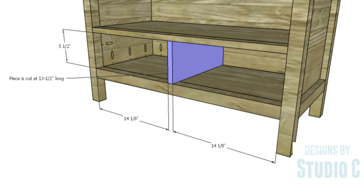 DIY Plans to Build an Atherton Cabinet_Drawer Divider