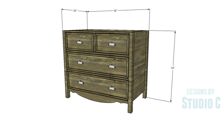 DIY Plans to Build a Furniture Style Bath Vanity
