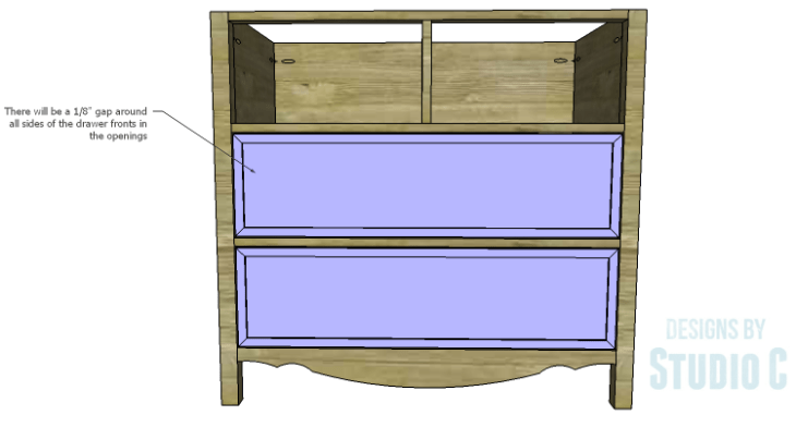 DIY Plans to Build a Furniture Style Bath Vanity_Drawer Fronts 2