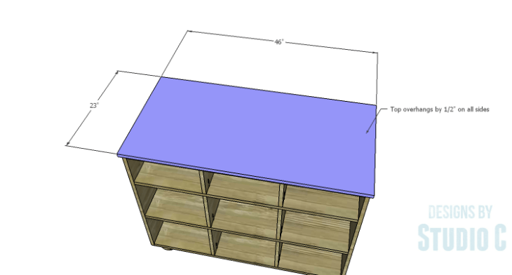 DIY Plans to Build an Eckhart Kitchen Island_Top