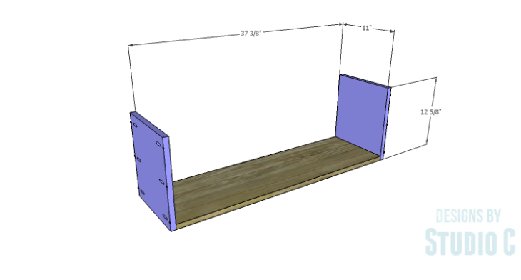DIY Plans to Build a Milo Shelving Unit_Drawer BS