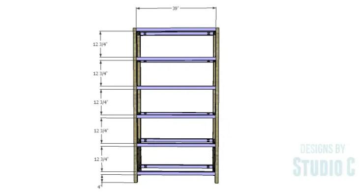 DIY Plans to Build a Milo Shelving Unit_Stretchers