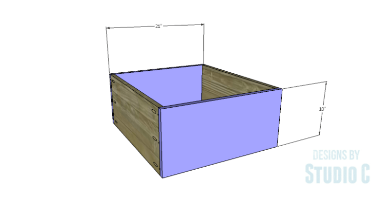 DIY Plans to Build Single Washer and Dryer Pedestals_Drawer FB