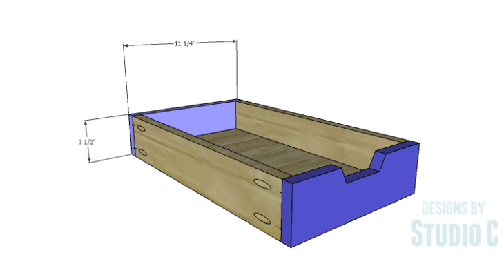 DIY Plans to Build a Trunk Style Bath Vanity_Drawer FB