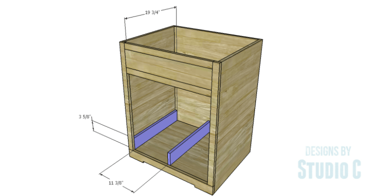 DIY Plans to Build a Trunk Style Bath Vanity_Drawer Spacers & Divider