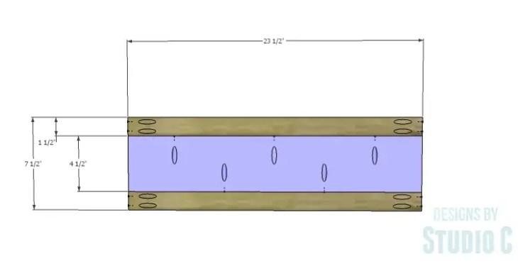DIY Plans to Build a Trunk Style Bath Vanity_False Drawer 1
