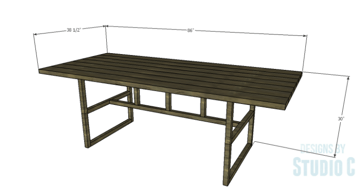 DIY Plans to Build a Griffith Dining Table
