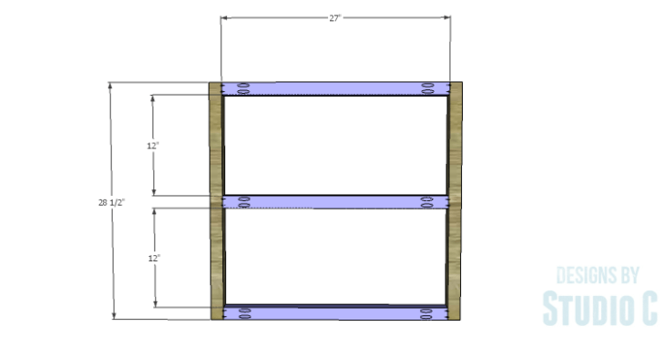 DIY Plans to Build a Griffith Dining Table_Leg Framing