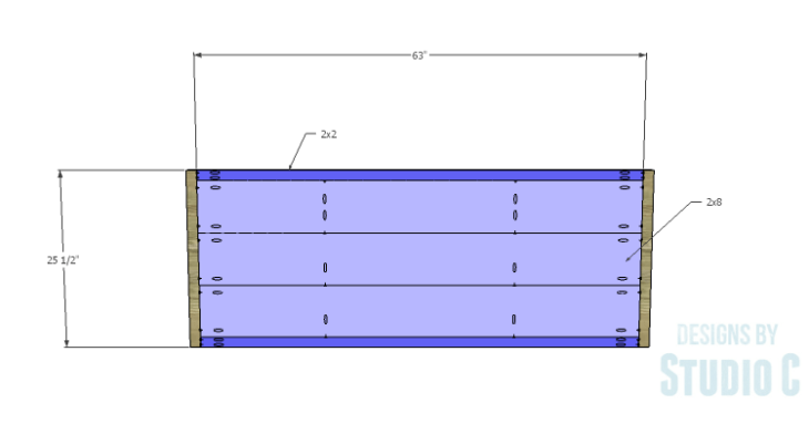 Metal Strap Bed_Footboard