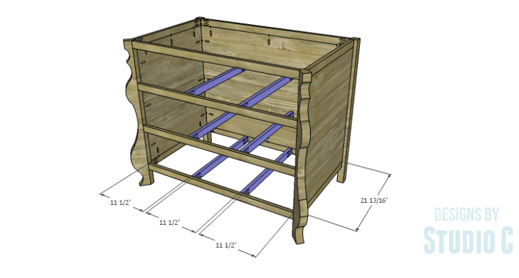 DIY Plans to Build a Raphael Dresser_Drawer Supports