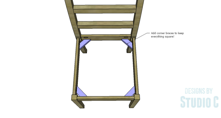 DIY Plans to Build an Anna Chair_Corner Braces