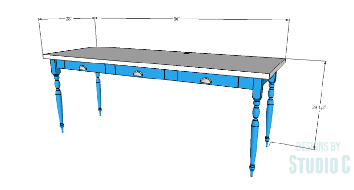 DIY Plans to Build a Desk with an Old Door