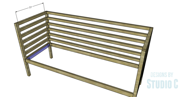 DIY Plans to Build a Penn Outdoor Daybed_Slat Supports
