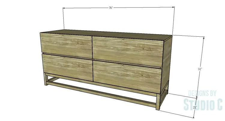 plywood dresser a simply modern dresser designs by studio c
