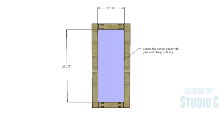 DIY Plans to Build a Hanson Media Console_Outer Doors 2