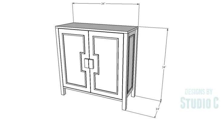 DIY Plans to Build a Trim Detail Cabinet