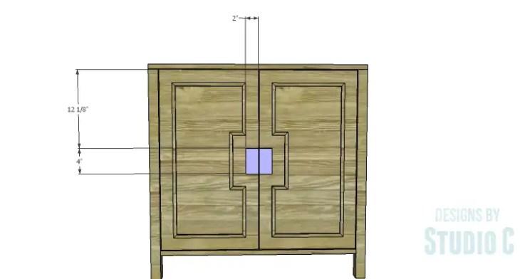 DIY Plans to Build a Trim Detail Cabinet_Door Handles